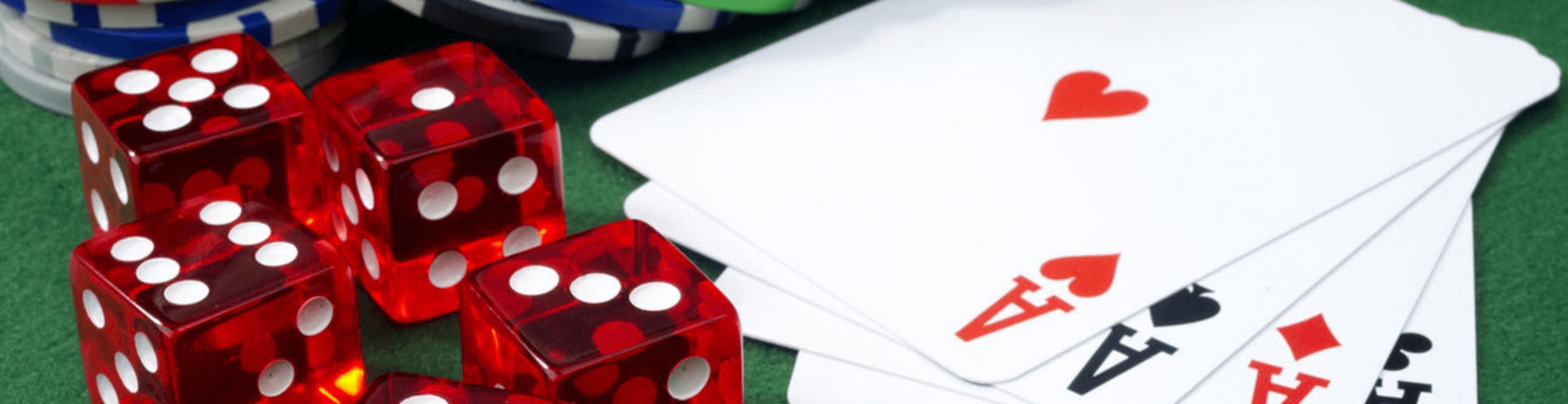 gambling close up